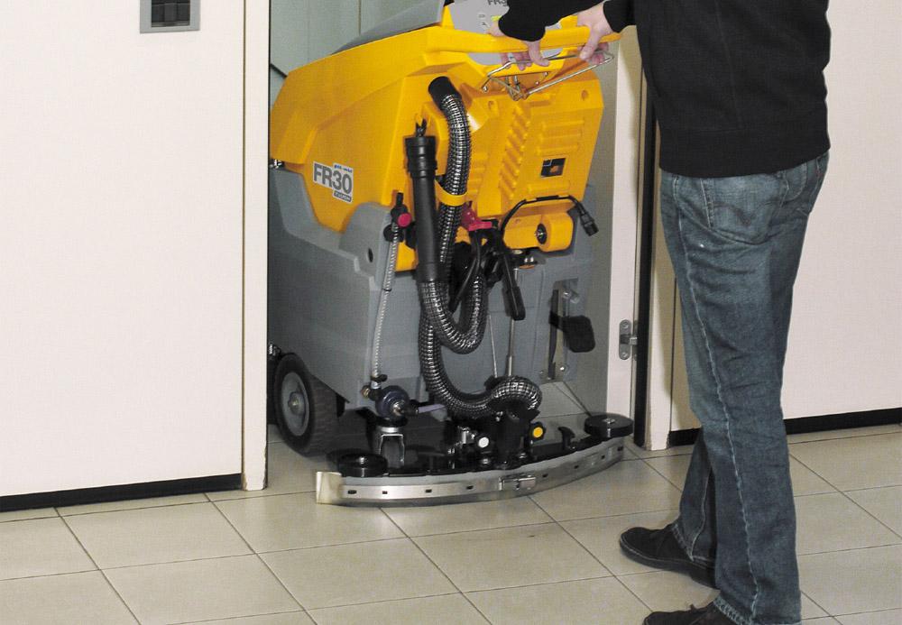 Поломоечные машины для уборки площадей 1000 кв.м. до 3500 кв.м.