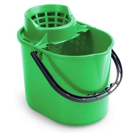 Ведро Pit с отжимом 12 л зеленое