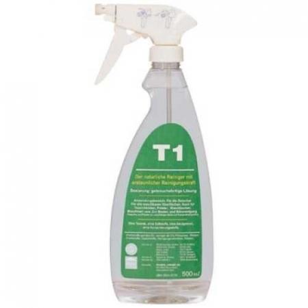 T1 - средство, не содержащее ПАВ, для чистки водостойких и текстильных поверхностей