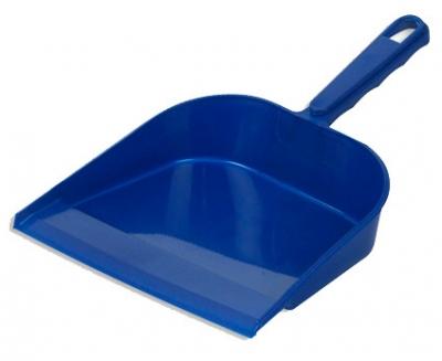Совок для мусора пластиковый с резинкой 236х275мм
