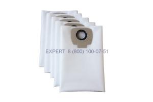 Мешки для пылесоса BOSCH GAS 20, MAKITA VC 2012, 5 штук