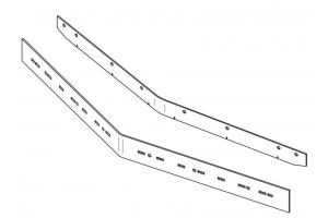 Комплект резиновых лезвий для Lavor Dynamic 45
