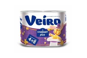 Бумага туалетная Veiro Standart Plus